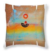 Ocean Swell Throw Pillow