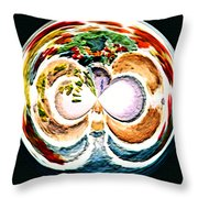 Oceana Orb Throw Pillow