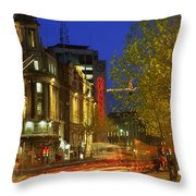 Oconnell Street Bridge, Dublin, Co Throw Pillow