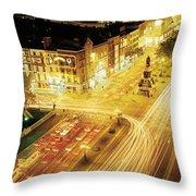 Oconnell Street, Dublin City, Dublin Throw Pillow