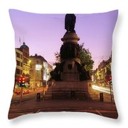 Oconnell Street, Dublin, Ireland Throw Pillow