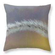 October Grass Throw Pillow