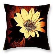 October Jewel Throw Pillow