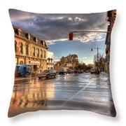 October Rain Throw Pillow