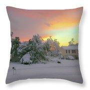 October Surprise 1872 Throw Pillow