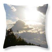 October's Radiance 2012 Throw Pillow