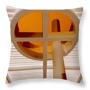 Oculus 2 Throw Pillow