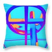 Oculus 4 Throw Pillow