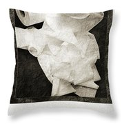 Ode To The Spare Roll Throw Pillow