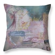 Of Beauty And Mystery Throw Pillow