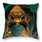 Of Crowns Masks And Things Yet Unseen Throw Pillow