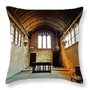 Of Stone And Wood Throw Pillow