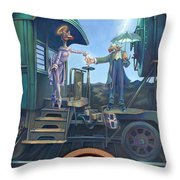 Of Thee I Sing The Body Electric Throw Pillow