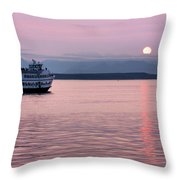 Off Into The Sunset Throw Pillow