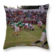 Off Sides Throw Pillow