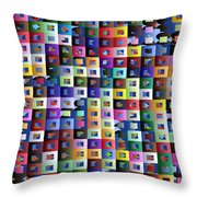 Off The Chart Throw Pillow