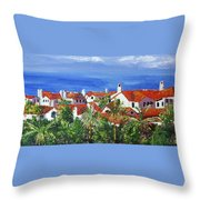 Off The Coast Throw Pillow