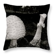 Off With Your Head Throw Pillow by Trish Hale
