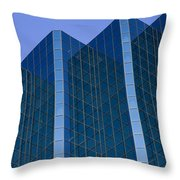 Office Buildings Throw Pillow