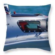 Offshore Racer Cockpit Throw Pillow