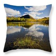 Ogilvie Mountains Along Dempster Throw Pillow