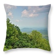 Oh Beautiful For Spacious Skies Throw Pillow