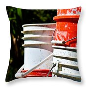 Oh Bucket Throw Pillow