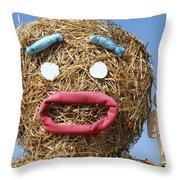 Oh Noooo Mr Bill Throw Pillow