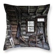 Ohio Cabin Throw Pillow