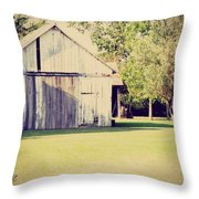 Ohio Shed Throw Pillow