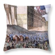 Ohio: Union Parade, 1861 Throw Pillow