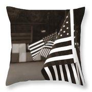 Ojai Memorial Day  Throw Pillow