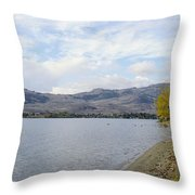 Okanagan Fall Throw Pillow