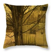 Old And Crooked Throw Pillow