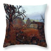 Old And Forgotten Throw Pillow