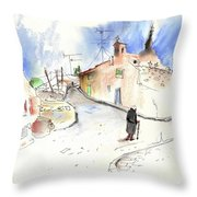 Old And Lonely In Spain 02 Throw Pillow