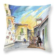 Old And Lonely In Spain 03 Throw Pillow