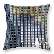 Old And New 2 Throw Pillow