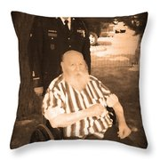 Old And New Veterans Throw Pillow