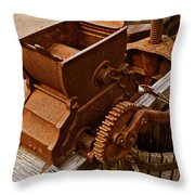 Old Apple Press 2 Throw Pillow