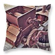 Old Apple Press 3 Throw Pillow