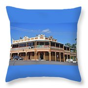 Old Aussie Pub Throw Pillow
