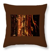 Old Bark Throw Pillow