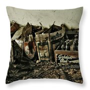 Old Beerz Throw Pillow
