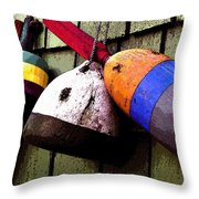 Old Bouys Throw Pillow