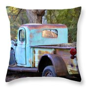 Old But Classic Throw Pillow