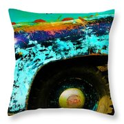 Old But Not Dead Throw Pillow