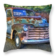 Old Chevy Throw Pillow