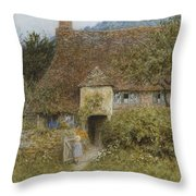 Old Cottage Witley Throw Pillow
