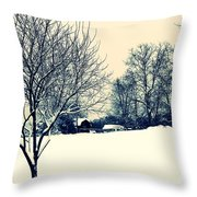 Old Country Christmas 3 Throw Pillow